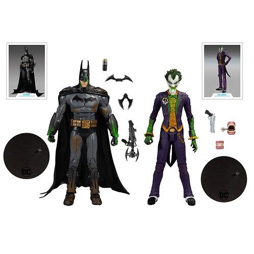 "Batman Arkham Asylum - Batman & Joker 7"" Action Figure 2-pack"