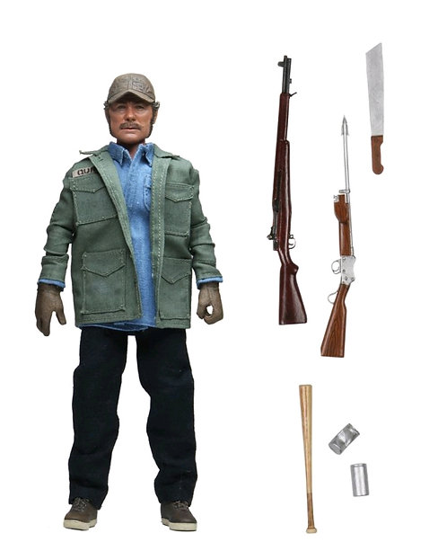 "Jaws - Sam Quint 8"" Clothed Action Figure"
