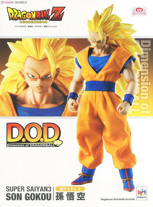 Dragon Ball Z – Dimension Of Dragon Ball Super Saiyan 3 Son Goku Figure