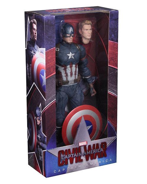 Captain America 3: Civil War - Captain America 1:4 Scale Action Figure