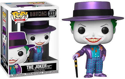 Batman 1989 - Joker with Hat Metallic US Exclusive Pop! Vinyl