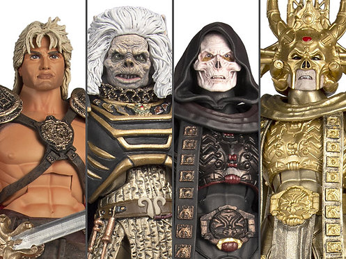 Masters of the Universe Collector's Choice William Stout Collection Set of 4