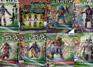 2014 TMNT Movie Figure Packaged Pics
