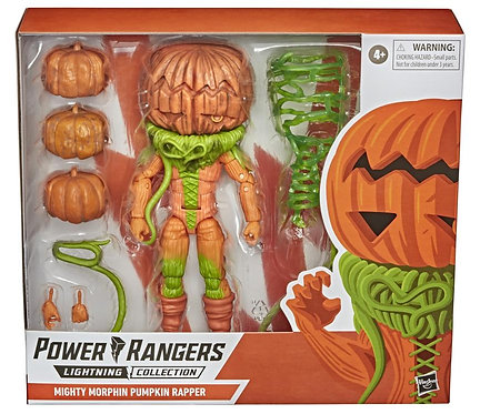 Power Rangers Lightning Collection Mighty Morphin Pumpkin Rapper 6-Inch Action F