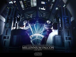 Hot Toys Announces 1/6 Scale Star Wars Millennium Falcon Cockpit