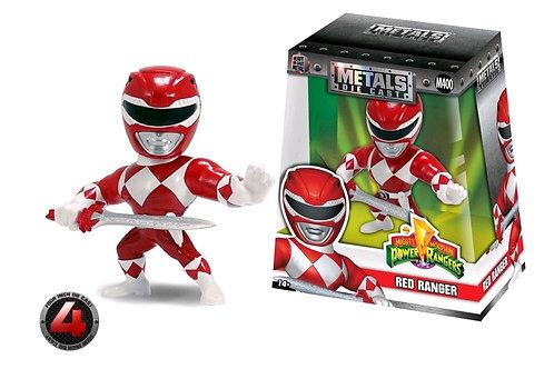 "Mighty Morphin Power Rangers - Red Ranger 4"" Metals"