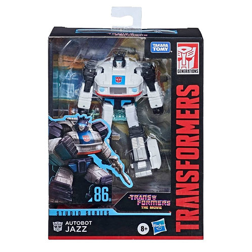 Transformers Studio Series 86-01 Deluxe Autobot Jazz
