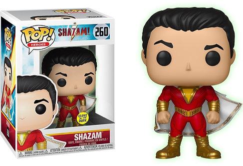 Shazam - Shazam Glow US Exclusive Pop! Vinyl