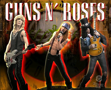 Guns N' Roses - Rock Iconz Statues Set of 3