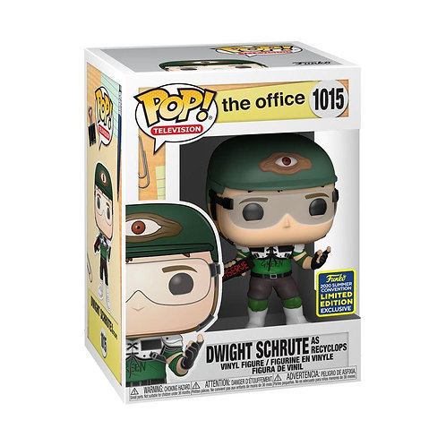 The Office - Dwight Schrute as Recyclops SDCC 2020 Exclusive Pop! Vinyl