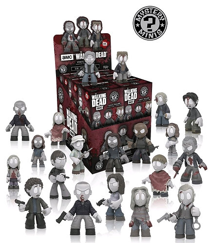 Walking Dead - Mystery Minis In Memoriam Season 8 Blind Box Set Of  12
