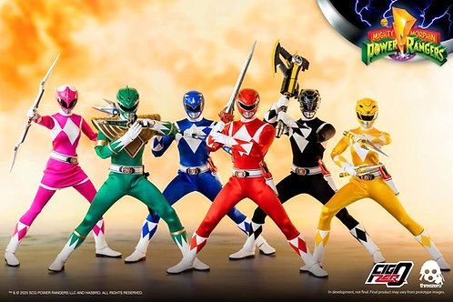 Mighty Morphin Power Rangers 1:6 Scale Action Figure 6-Pack Complete Set