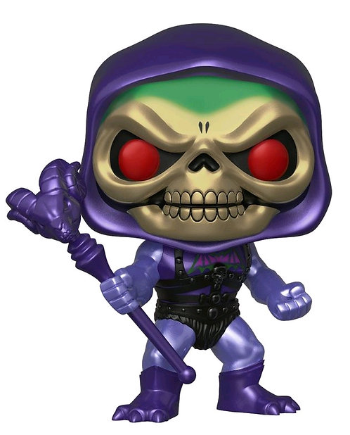 Masters of the Universe - Skeletor Battle Armor Metallic US Exclusive Pop! Vinyl