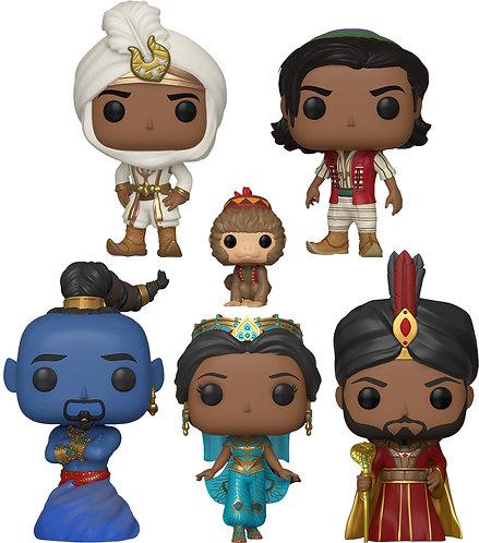 Aladdin (2019) - POP! Vinyl Bundle Set Of 5