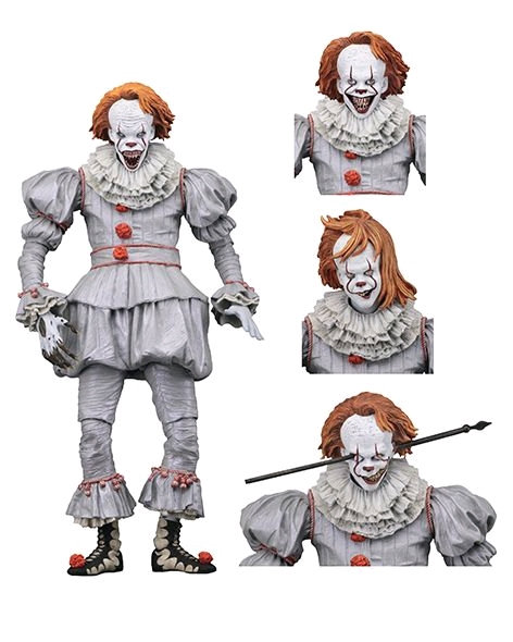 """It (2017) - Pennywise Well House Ultimate 7"""" Action Figure"""
