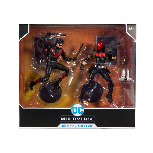 """DC Multiverse - Nightwing vs Red Hood 7"""" Action Figure 2-pack"""