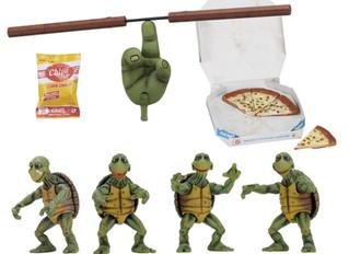 Teenage Mutant Ninja Turtles (1990 Movie) – 1/4 Scale Action Figures – Baby Turtles Set