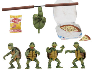 Teenage Mutant Ninja Turtles (1990 Movie) – 1/4 Scale Action Figures – Baby Turtles Set