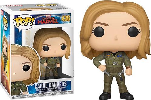 Captain Marvel - Carol Danvers Flight Suit US Exclusive Pop! Vinyl