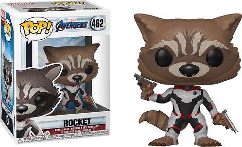 Avengers 4: Endgame - Rocket Team Suit US Exclusive Pop! Vinyl