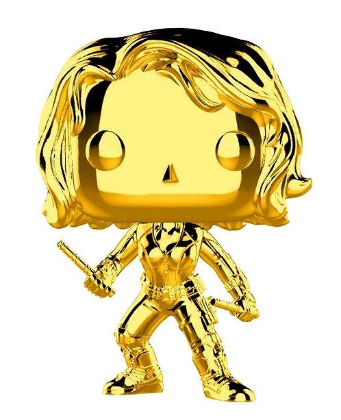 Marvel Studios 10th Anniversary - Black Widow Gold Chrome Pop! Vinyl