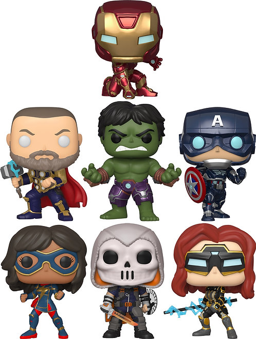Marvel's Avengers (2020) - Video Game Pop! Vinyl Bundle (Set of 7)