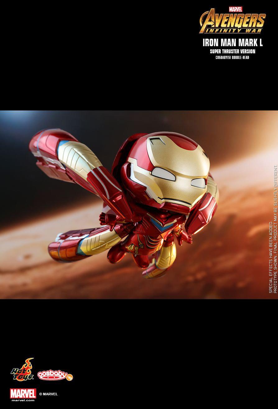 Avengers 3: Infinity War - Iron Man Mark L Super Thruster Cosbaby