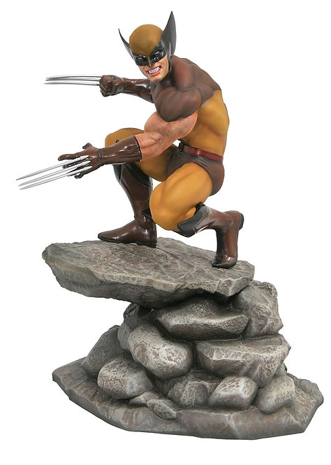 X-Men - Wolverine Comic PVC Gallery Statue