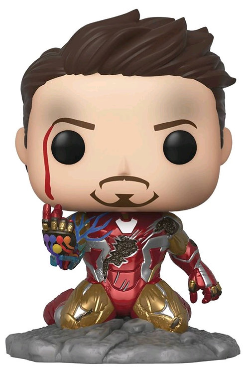 Avengers 4: Endgame - I Am Iron Man Glow Pop! Deluxe Wave 1