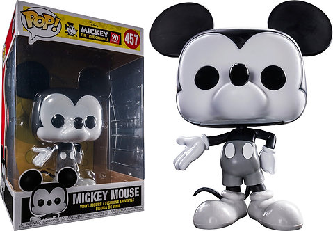 """Mickey Mouse - 90th Mickey Mouse Black & White US Exclusive 10"""" Pop! Vinyl"""