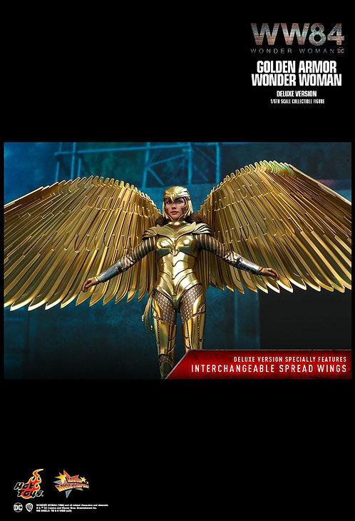 "Wonder Woman: 1984 - Golden Armor Deluxe 1:6 Scale 12"" Action Figure"
