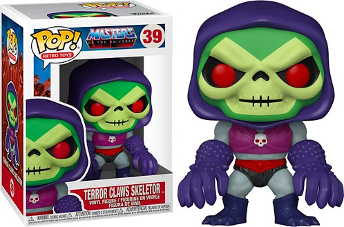 Masters of the Universe - Skeletor with Terror Claws Metallic US Exclusive Pop!