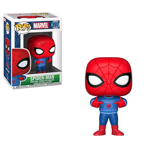 Spider-Man - Spider-Man with Ugly Sweater Pop! Vinyl