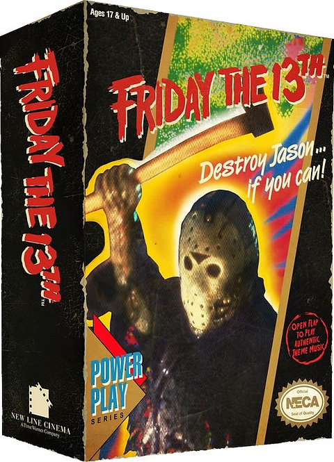 """Friday the 13th - 7"""" Jason Video Game Figure"""