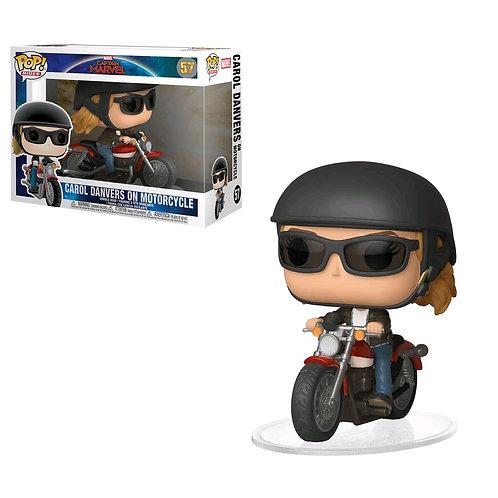 Captain Marvel - Carol Danvers on Bike Pop! Ride