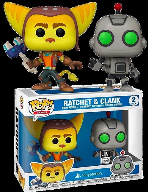 Ratchet & Clank - Ratchet & Clank US Exclusive Pop! Vinyl 2-pack