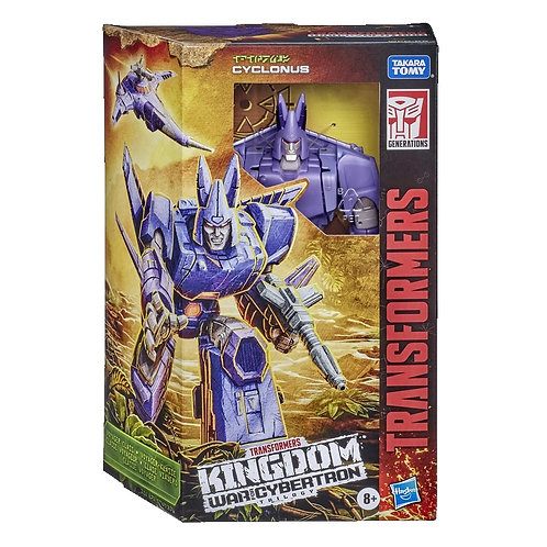 Transformers War for Cybertron: Kingdom Voyager Cyclonus
