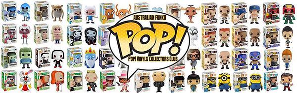 Australian Funko Pop! Vinyls Collectors