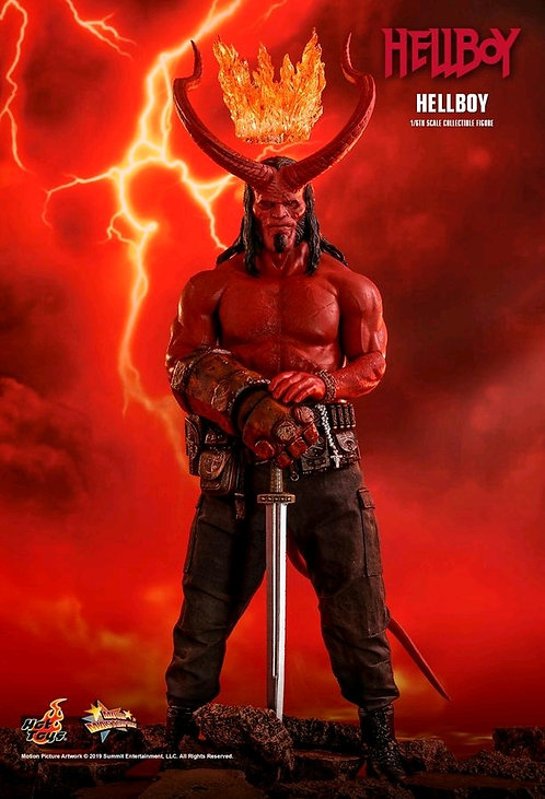 "Hellboy (2019) - Hellboy 12"" 1:6 Scale Action Figure"