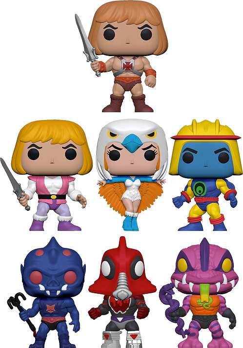 Masters of the Universe - POP! Bundle (Set Of 7)