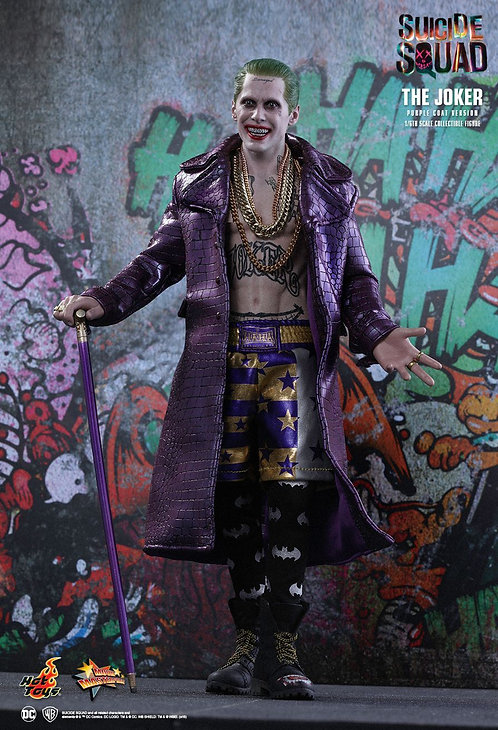 "Suicide Squad - Joker Purple Coat 12"" 1:6 Scale"