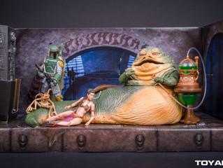 Star Wars Black Series Jabba The Hutt's Throne Room SDCC