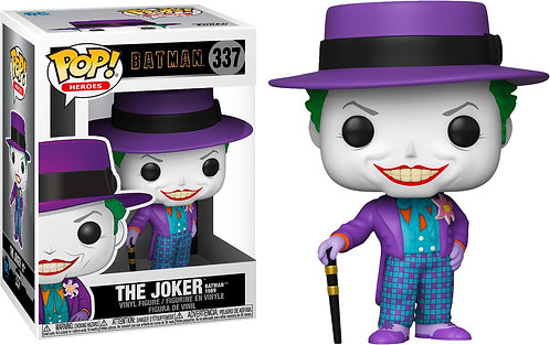 Batman 1989 - Joker with Hat (with chase) Pop! Vinyl