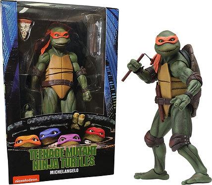 "Teenage Mutant Ninja Turtles (1990) - Michelangelo 7"" Action Figure"
