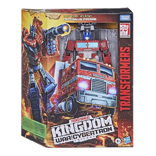 Transformers War for Cybertron: Kingdom Leader Optimus Prime