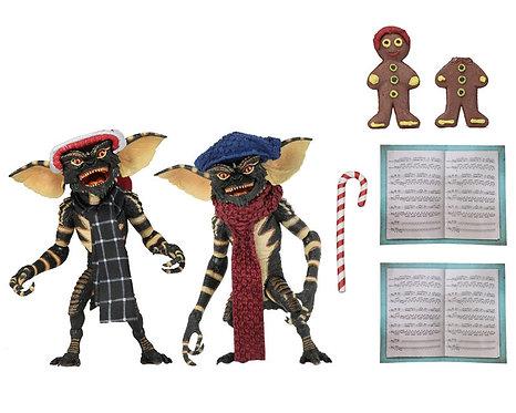 """Gremlins - Christmas Carol Gremlin #1 7"""" Action Figure 2-pack"""