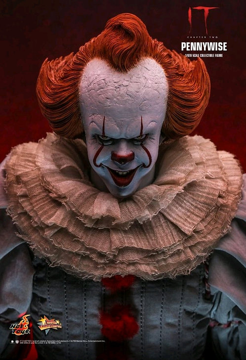 """It: Chapter 2 - Pennywise with Balloon 1:6 Scale 12"""" Action Figure"""
