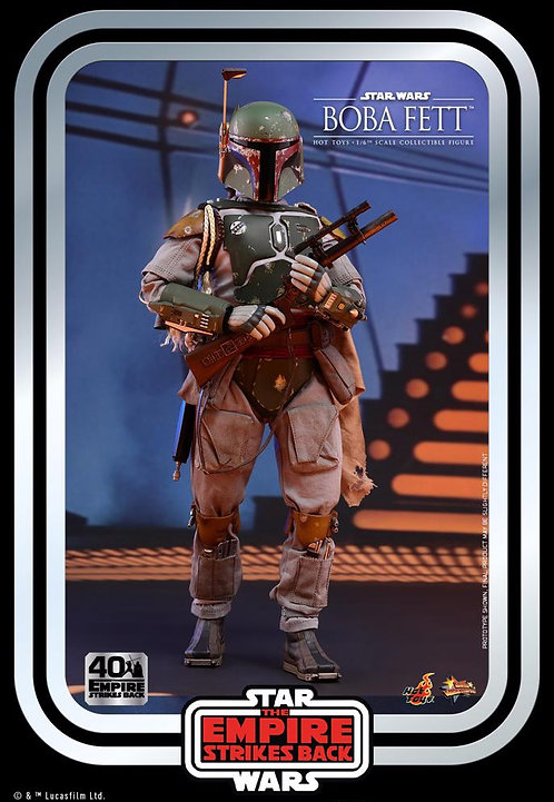 "Star Wars - Boba Fett 40th Anniversary 1:6 Scale 12"" Action Figure"