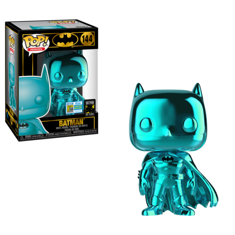 DC Comics - Batman (Teal Chrome) SDCC 2019 US Exclusive Pop! Vinyl