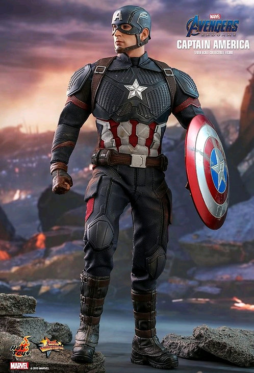 "Avengers 4 - Captain America 12"" 1:6 Scale Action Figure"